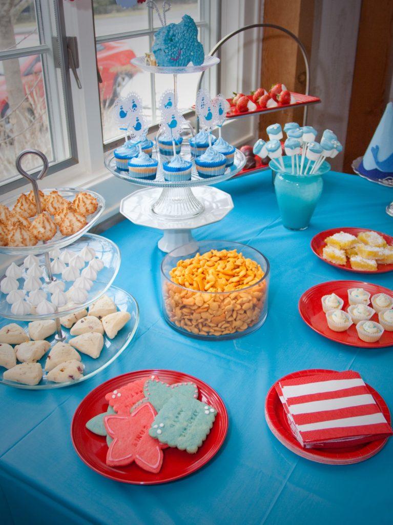 Ocean ONEderland Party Food