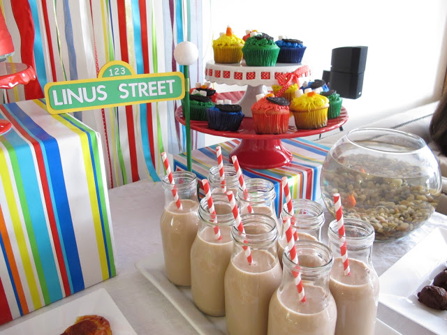 Sesame Street Party: Party Pics