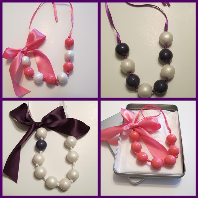 Valentine's Day Ideas: Gumball Necklaces by One Charming Party