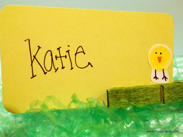 Easter Thumbprint Chicks