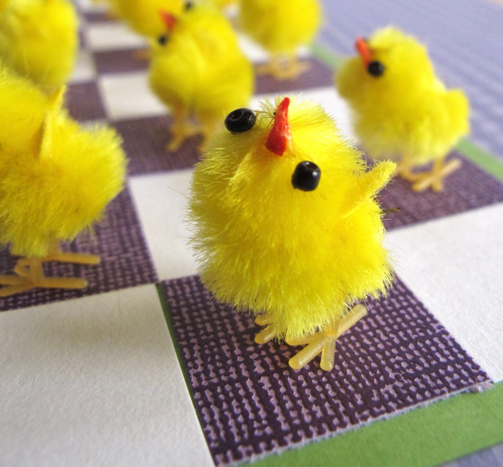 Easter Springtime 'Chickers' Game