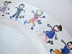 Teacher Gifts: Classroom Plate