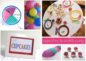 Cupcakes & Confetti Party Guide