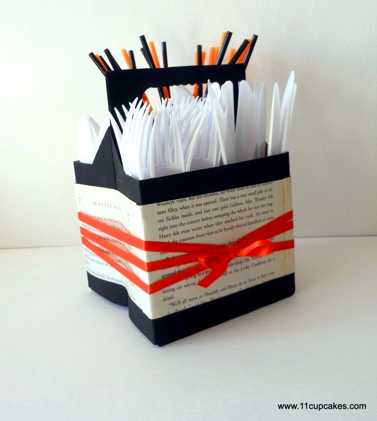 DIY Silverware Caddy
