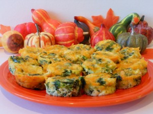 Thanksgiving Food Mini Frittatas