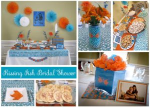 Kissing Fish Bridal Shower: Party Pics