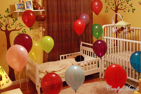 Birthday Traditions: Balloon Surprise