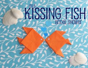 Kissing Fish Bridal Shower