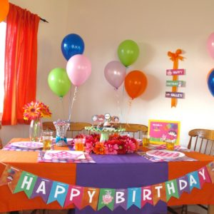 Dora the Explorer Kids party
