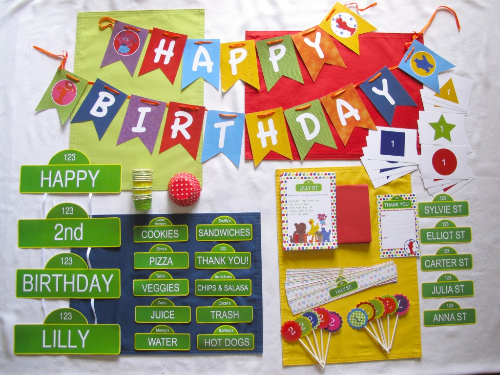 Sesame Street Party Pack