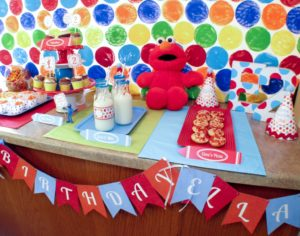 DIY Elmo's World Party at Home