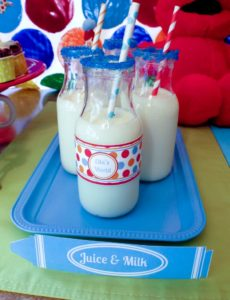 DIY Elmo Party: Easy Party Trays