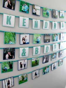 Teal & Sparkle Bridal Shower Instagram Banner