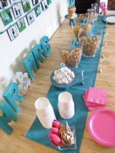 Teal & Sparkle Bridal Shower