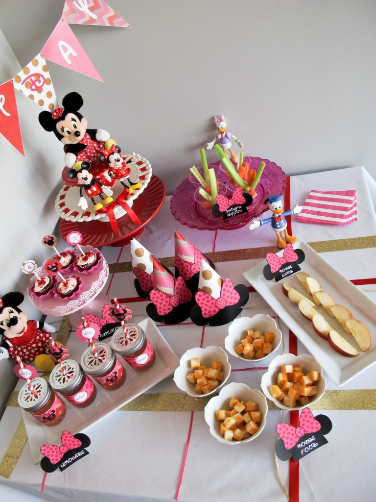 Minnie Mouse Party: Food & Drink