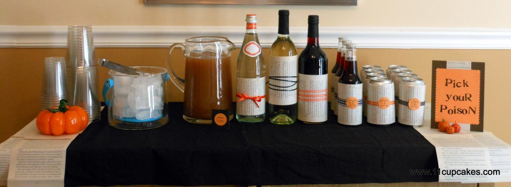 Halloween Round Up: Party Drinks