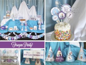 Frozen Winter Wonderland Party, Part 1