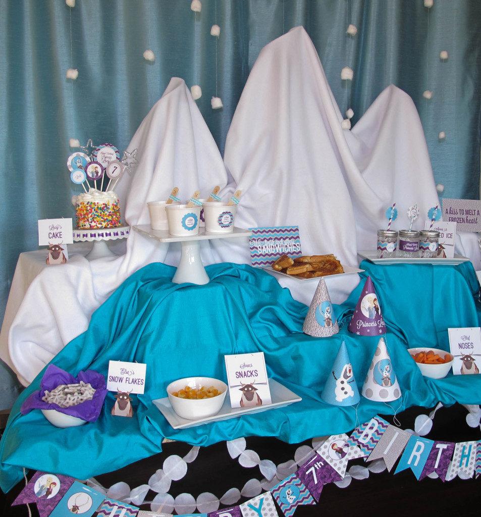 Frozen Winter Wonderland Party, Part 2