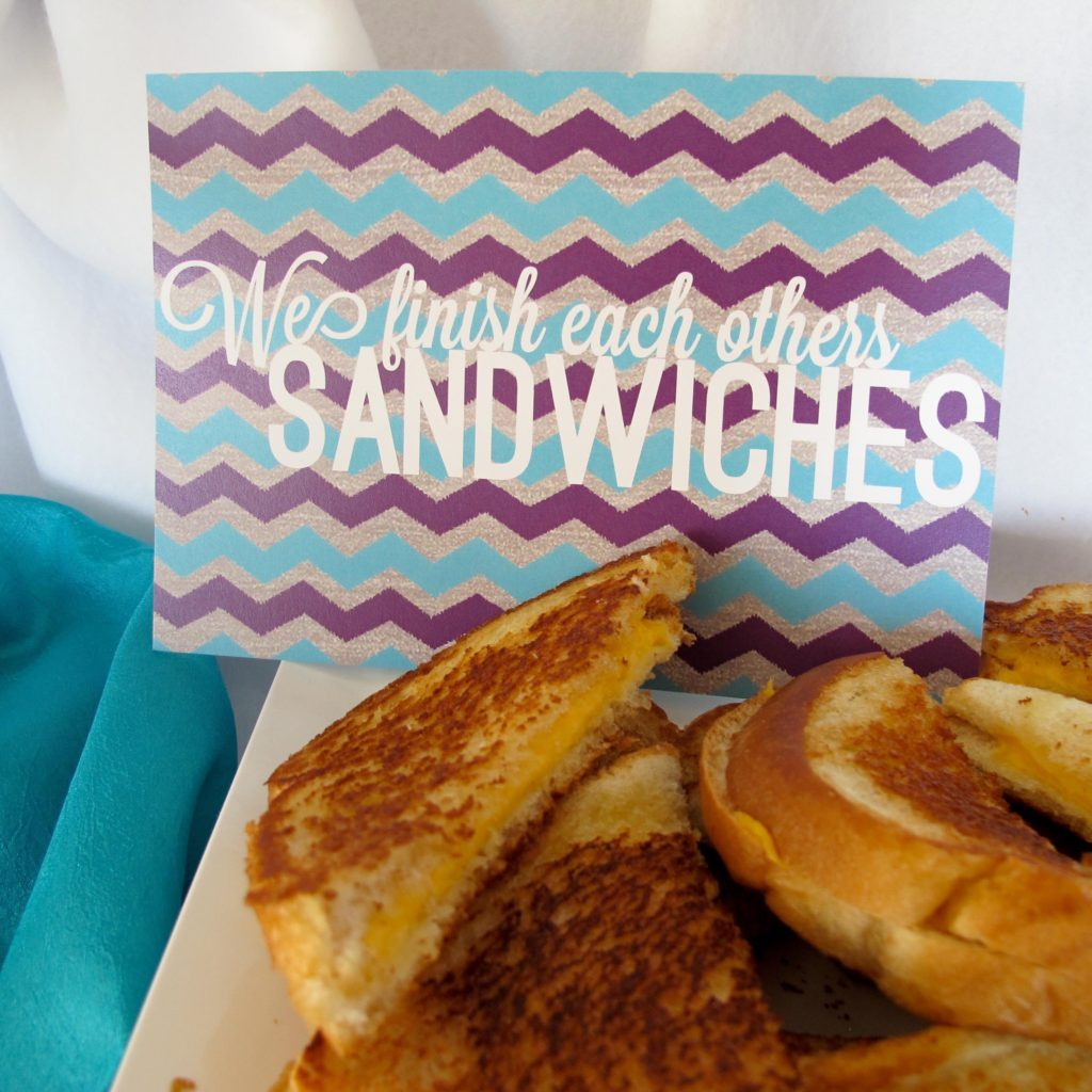 Frozen Birthday Party Food Ideas, grilled cheese sandwiches and tomato soup