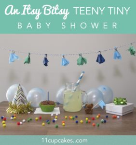 A Teeny Tiny Baby Shower