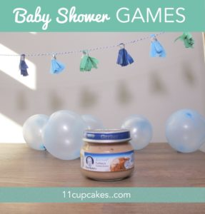 Teeny Tiny Baby Shower Games