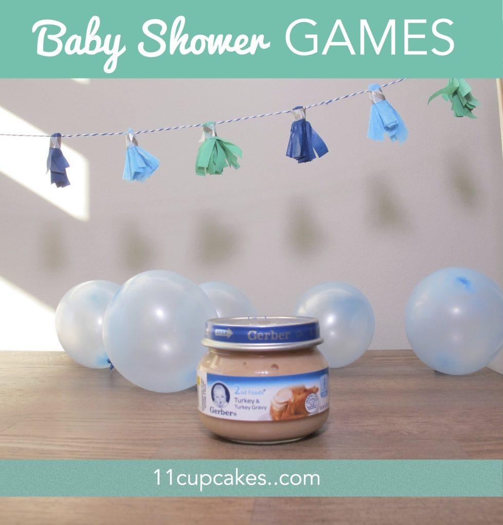 Teeny Tiny Baby Shower Games