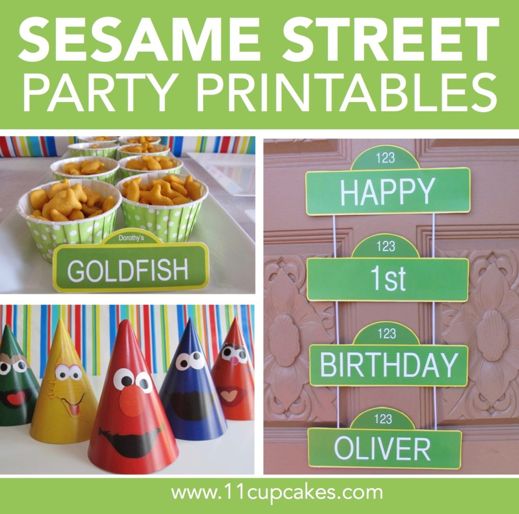 Sesame Street Party Guide: Kids Party Food
