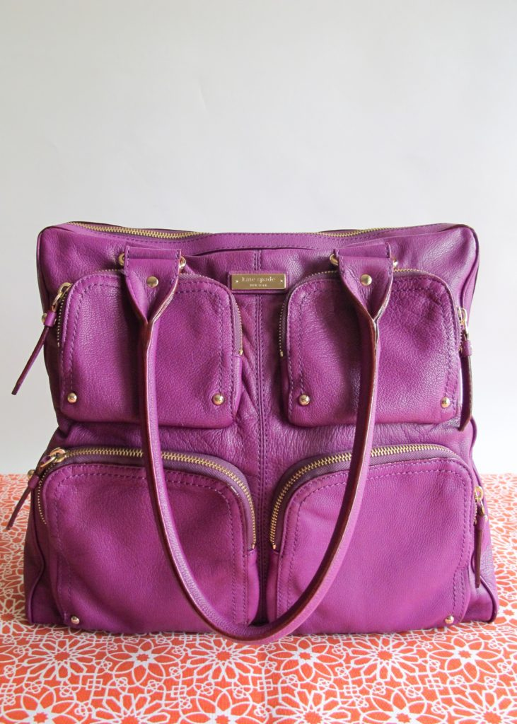Kate Spade Handbag turned Camera Bag
