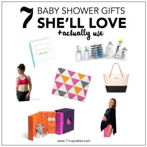 7 Baby Shower Gifts She'll Love + Giveaway!