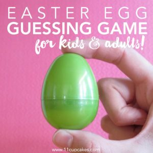 Fun Easter Egg Guessing Game for kids and adults