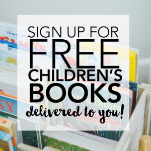 Register your child with Imagination Library to receive a FREE book every month!