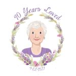 Milestone Birthday Party Ideas for Grandma's 90th Birthday with games, decorations, food and gifts.