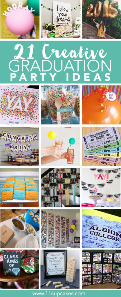 21 Creative Ideas for Your Graduation Party