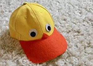 DIY little duck halloween costume