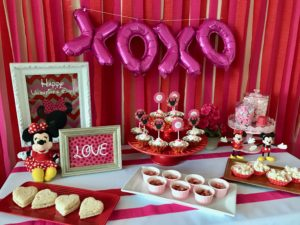 Minnie Mouse Valentine's Party