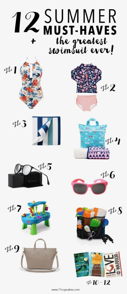 summer vacation must haves and the greatest swimsuit of all time
